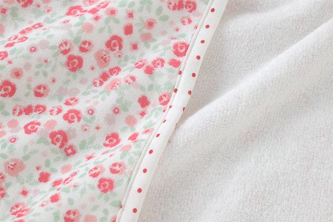 スウィートガール小花柄アフガン[ベビー服][赤ちゃん][服][ベビー][おくるみ][アフガン][女の子][出産祝い][出産準備][プレゼント]