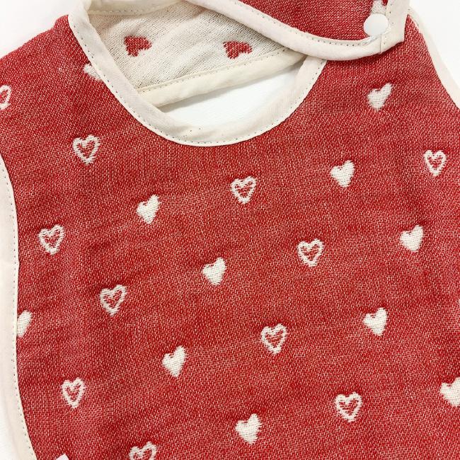 ベビー服 赤ちゃん 服 ベビー スタイ よだれかけ ビブ 女の子 綿100% 6重 ガーゼ 出産祝い ギフト プレゼント 6層ガーゼスタイ