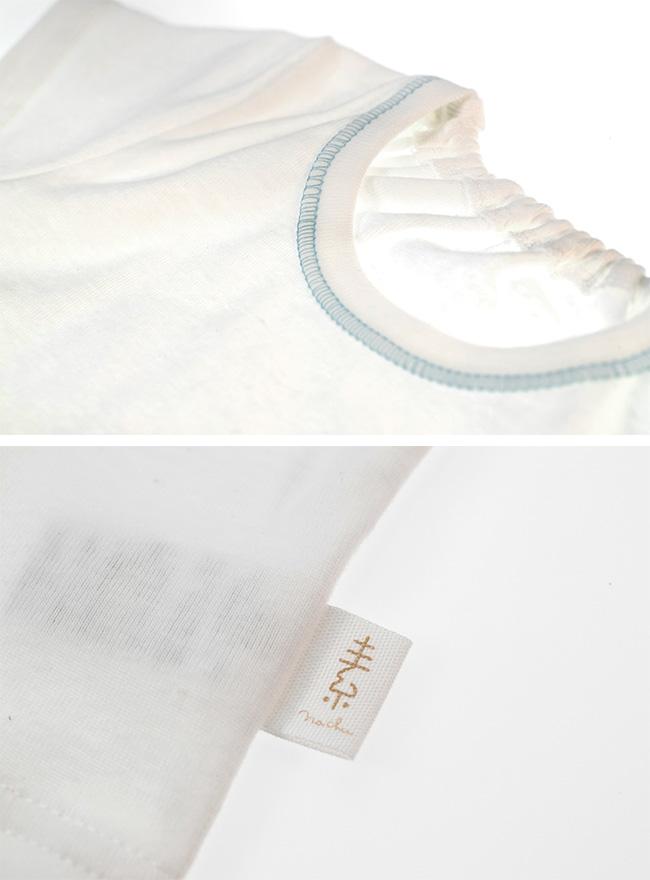 なちゅ男の子半袖インナーシャツ[ベビー服][赤ちゃん][服][ベビー][インナー][シャツ][肌着][下着][半袖][男の子][70][80][90][95]
