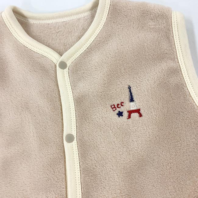 ベビー服 赤ちゃん 服 ベビー スリーパー ベスト お昼寝 出産祝い ギフト 男の子 女の子 50-70 80-100 ボアスリーパー