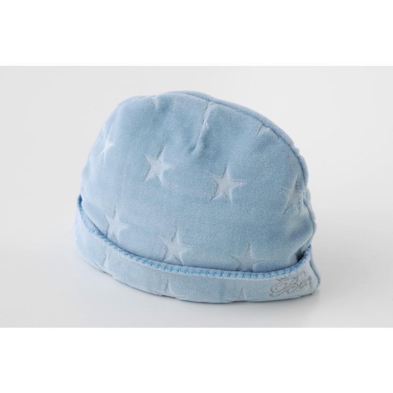 *ボンシュシュ*パステルベロア星型ベビー帽子
