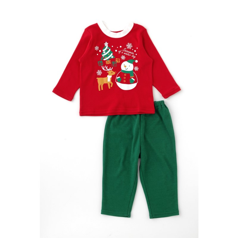 クリスマストップス&ズボンセット【パジャマ】