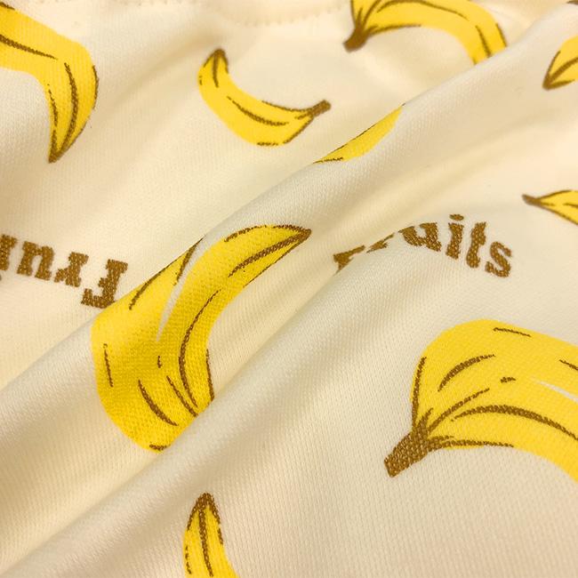 ベビー服 赤ちゃん 服 ベビー トレーニングパンツ トイトレ 6層 吊り式 男の子 80 90 95 100 白クマ&バナナ6層吊り式トレーニングパンツ2枚組