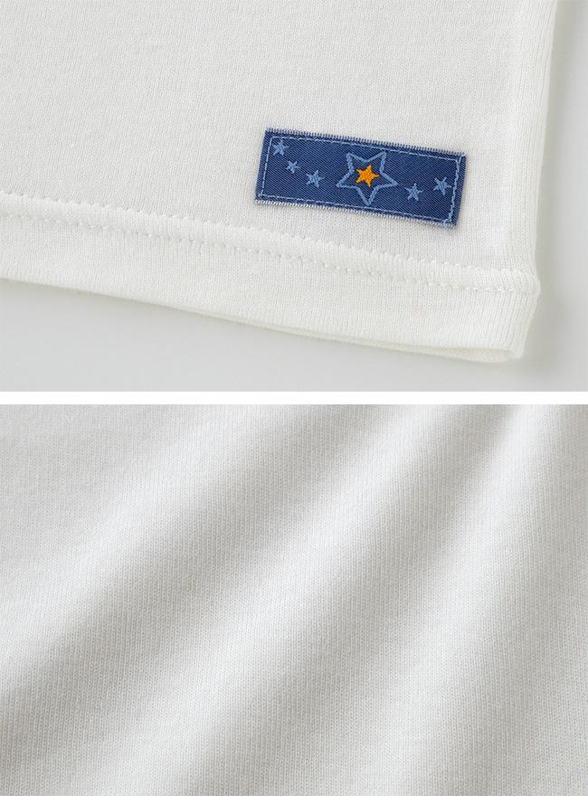 半袖インナーシャツ[ベビー服][赤ちゃん][服][ベビー][下着][半袖][男の子][女の子][保育園][80][90][95][100]