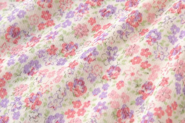 スウィートガール小花柄シフォンフリルツーウェイオール