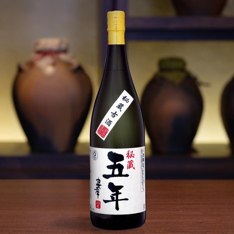 【古酒の日企画】5年古酒忠孝43度1800ml