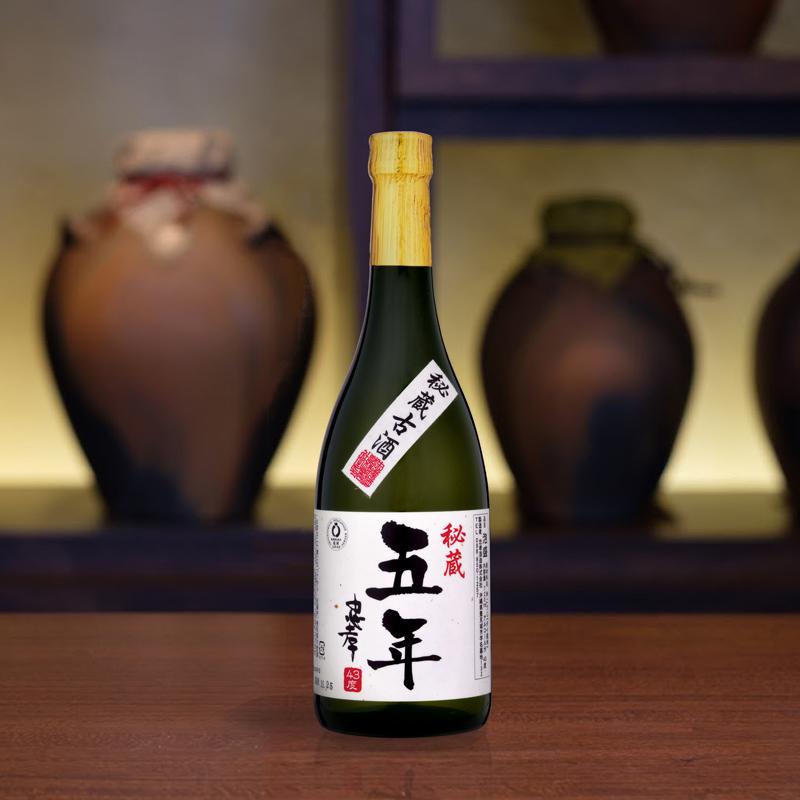 【古酒の日企画】5年古酒忠孝43度720ml