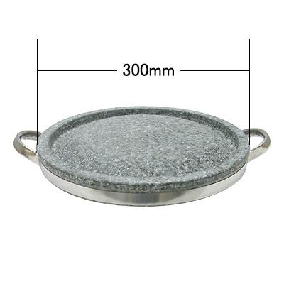 石焼肉プレート(30Cm・ハンドル付) 商品コード101055671