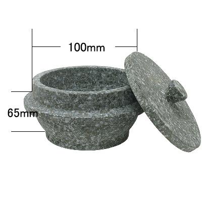 石焼釜(10cm〜20cm・石蓋付) 商品コード101024201