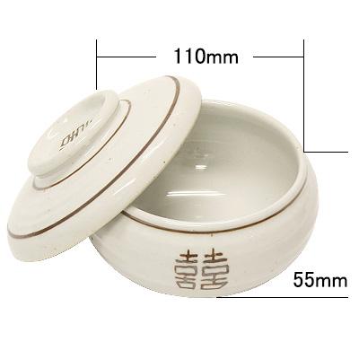 古白磁湯器,蓋付き 小〜大  商品コード205022403