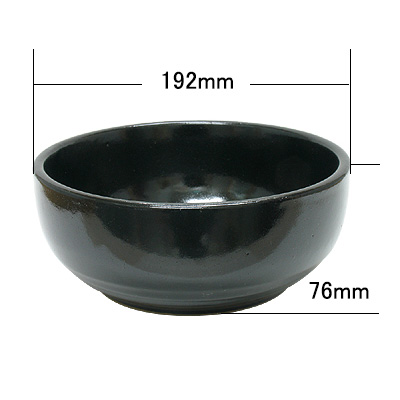 耐熱陶器ビビンバ器(小180mm〜大200mm)  商品コード202062101