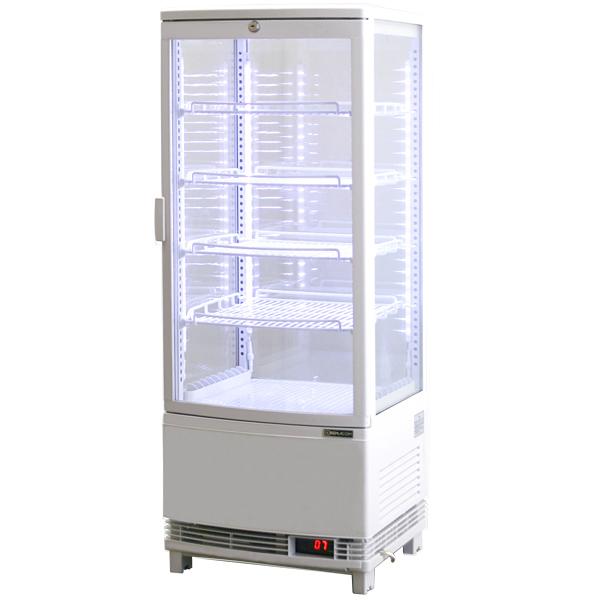 4面ガラス冷蔵ショーケース RCS-4G98SL