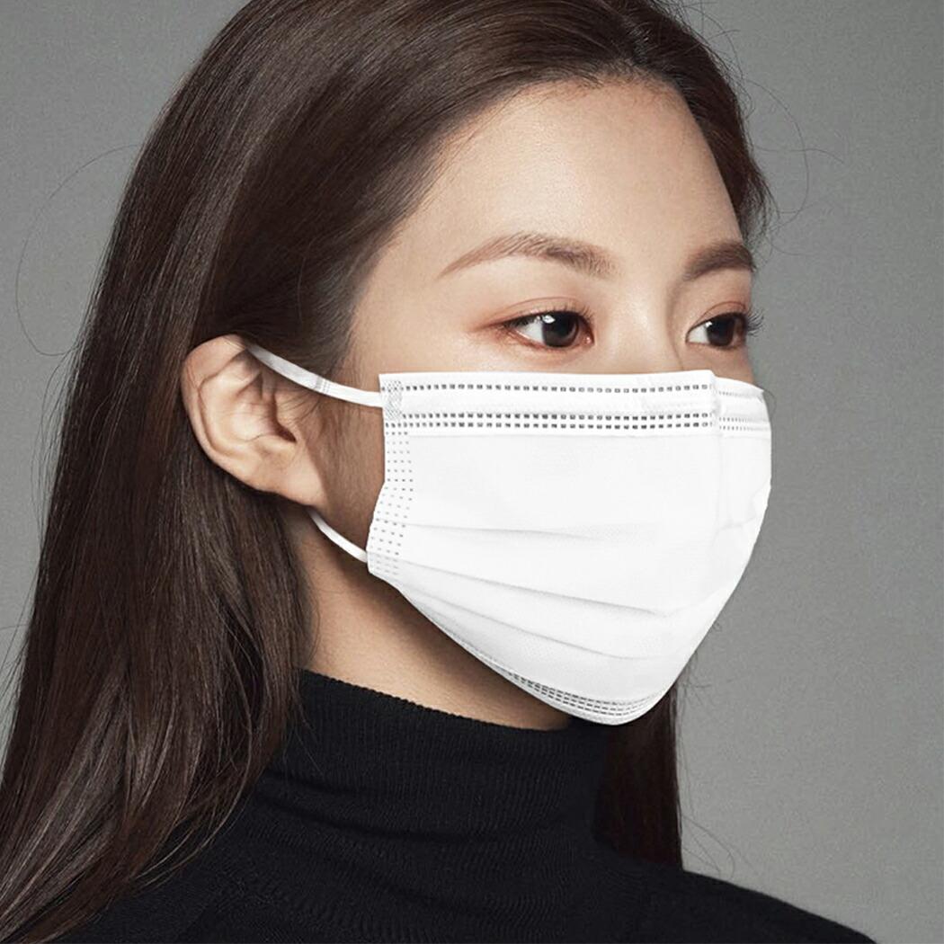 【不織布マスク】(17枚1パック×3)マスク 不織布 マスク50枚 ×100箱 在庫あり 耳が痛くならない 不織布マスク 使い捨てマスク