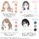 【血色不織布マスク】(17枚1パック×3)\春新色追加/血色マスク 4000枚 +80枚 18色 大人用マスク 不織布マスク