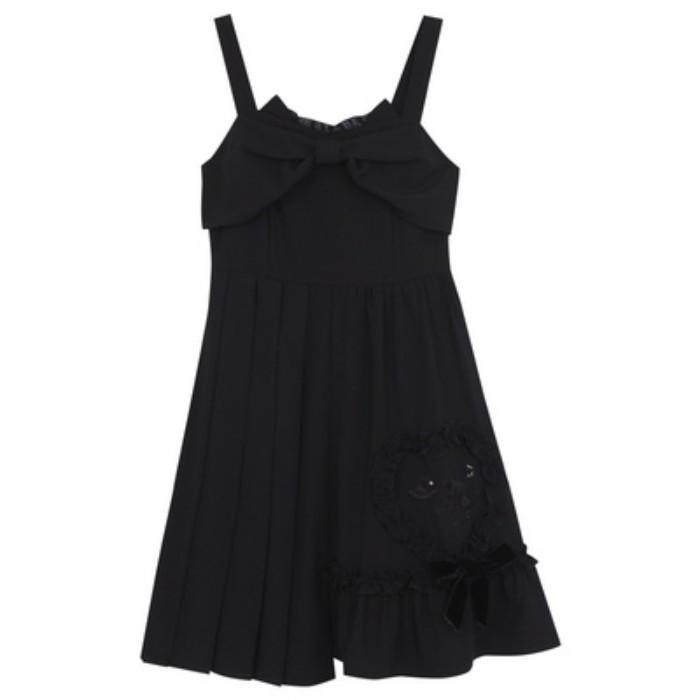 【snbl】オフショルショート丈トップス+サスペンダーワンピース◆セットアップ S、M、L