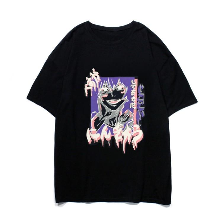 イラストプリントTシャツにんぎょうver◆トップス Tシャツ M、L、XL