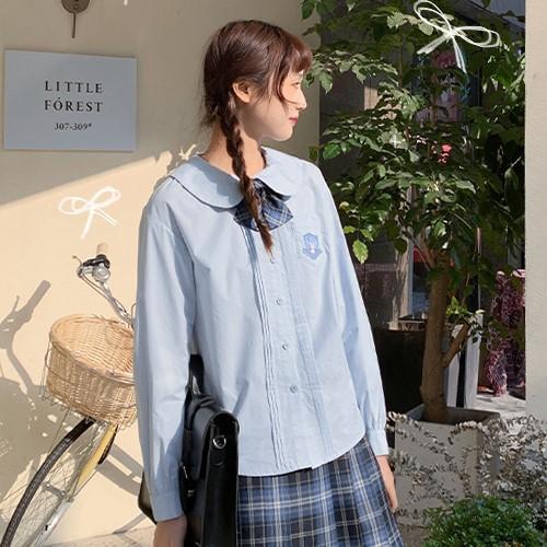 【BYJ】 ドールカラーコットンシャツ◆トップス S、M、L