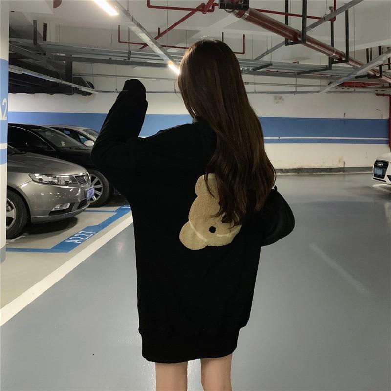 クマワッペンフードパーカー◆トップス パーカー M、L、XL