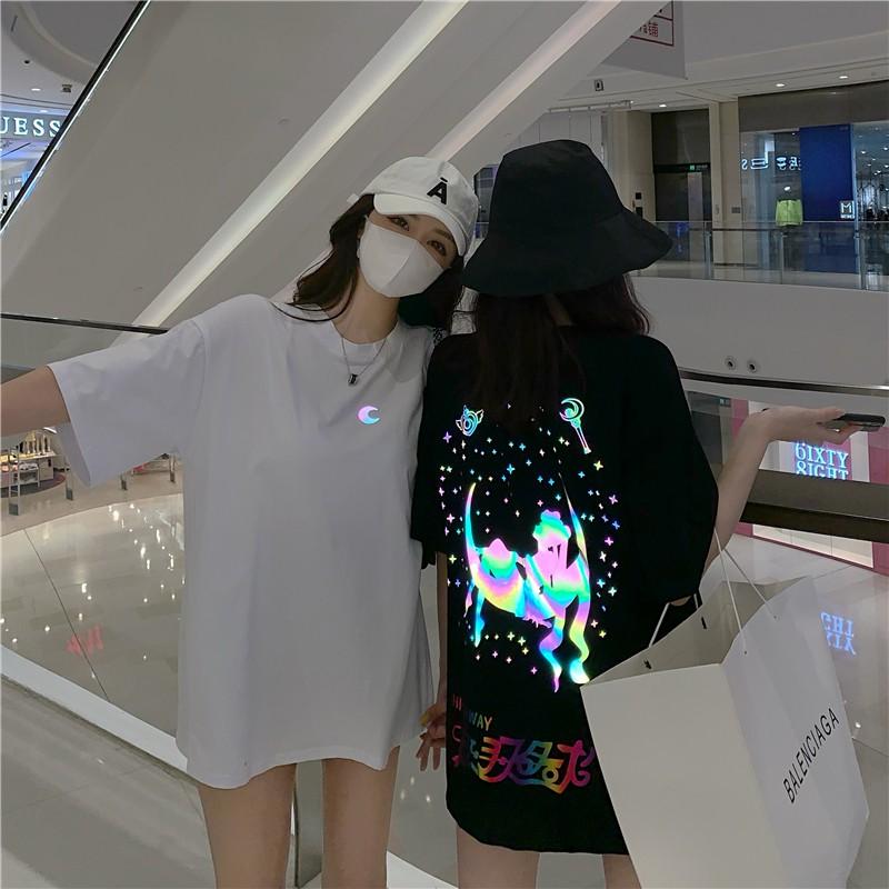 リフレクターセーラースターTシャツ◆トップス Tシャツ S、M、L、XL、XXL