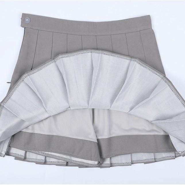 インナー付きプリーツスカートチェック柄(8)◆レディース ボトムス XS、S、M、L、XL、XXL、XXXL