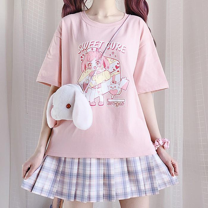 【CW】デザートナースTシャツ◆トップス Tシャツ ワンサイズ