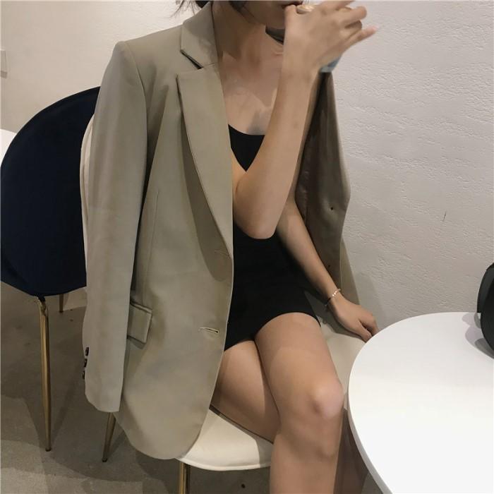 シンプルジャケット◆アウター ワンサイズ