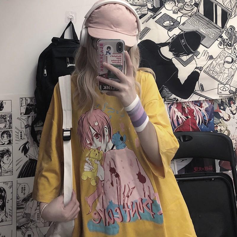 イラストプリントTシャツIDCver◆トップス Tシャツ ワンサイズ