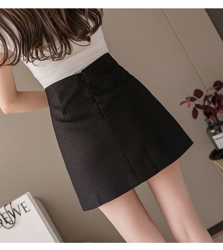 パールストーン付きタイトスカート◆レディース ボトムス S、M、L、XL