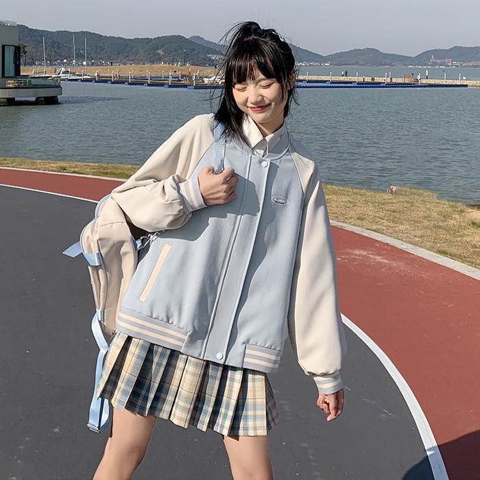 【BYJ】 カジュアルラグランスリーブジャケット◆アウター S、M、L