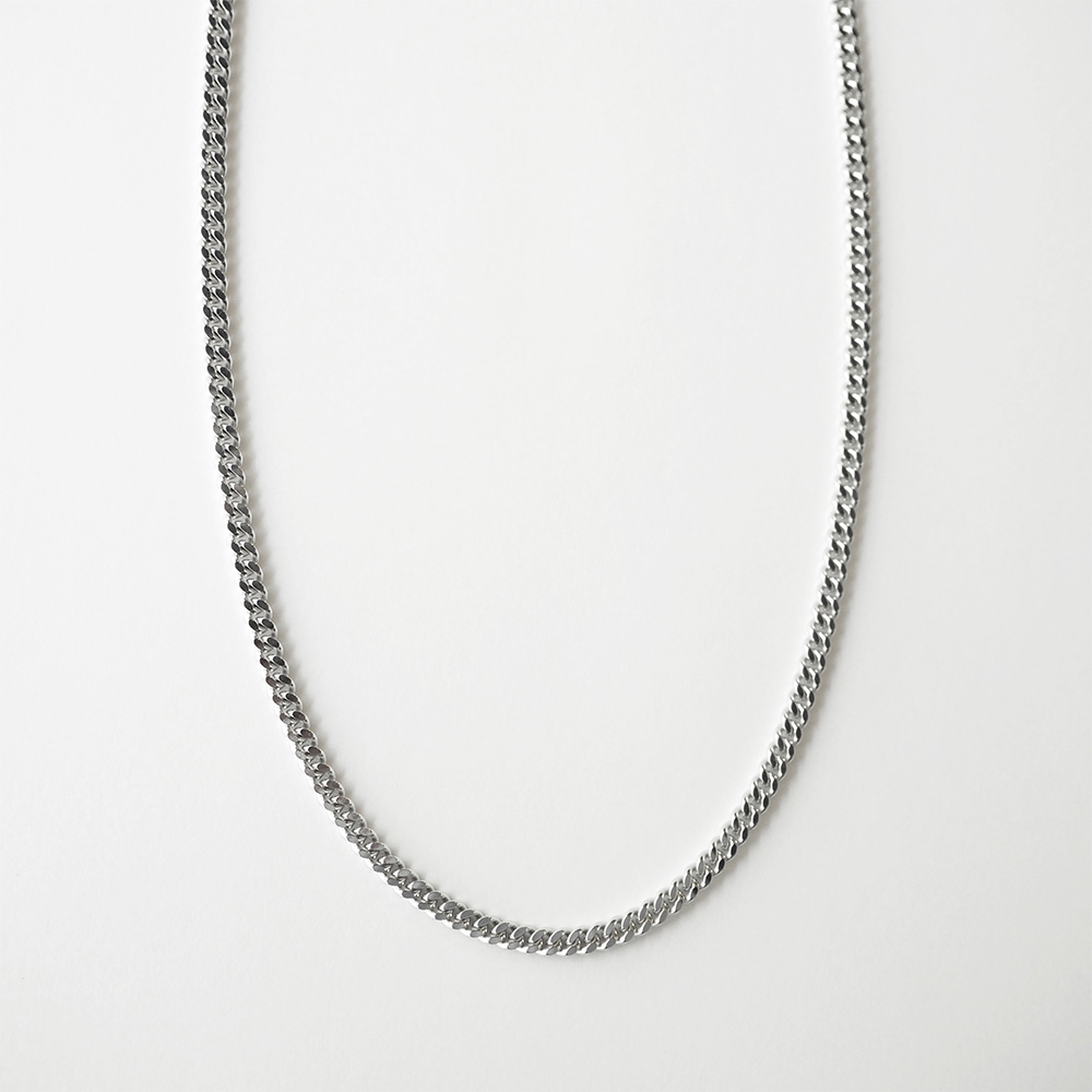 TOM WOOD  Curb Chain M トムウッド カーブチェーンネックレス M