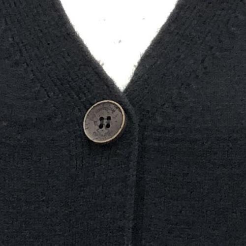ニット カーディガン 丈長 長袖 ポケット付き 9050 20 【cinq dix】