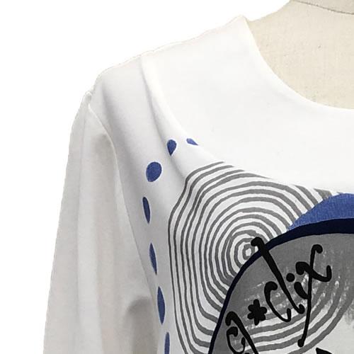 チュニック バルーン ポケット付き 七分袖 AW05 01 【cinq dix】
