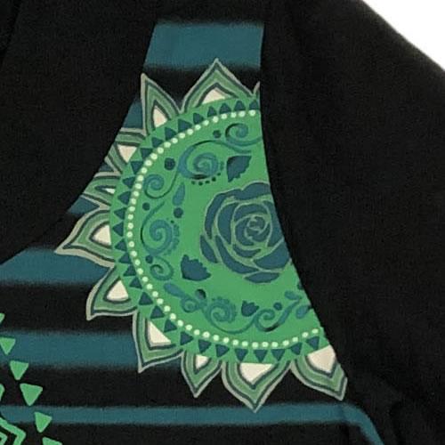 チュニック バルーン ポケット付き 七分袖 AW01 20 【cinq dix】