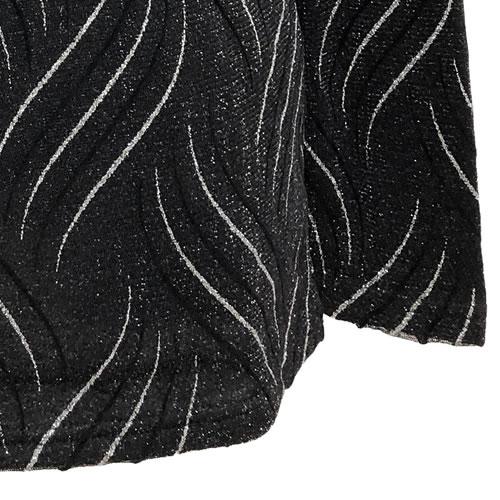 パワーネット カットソー ラメ 裏起毛 フリース タートルネック 長袖 1930 20 【cinq dix】