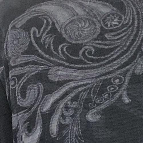 パワーネット カットソー 裏起毛 フリース タートルネック 長袖 1909 19 【cinq dix】