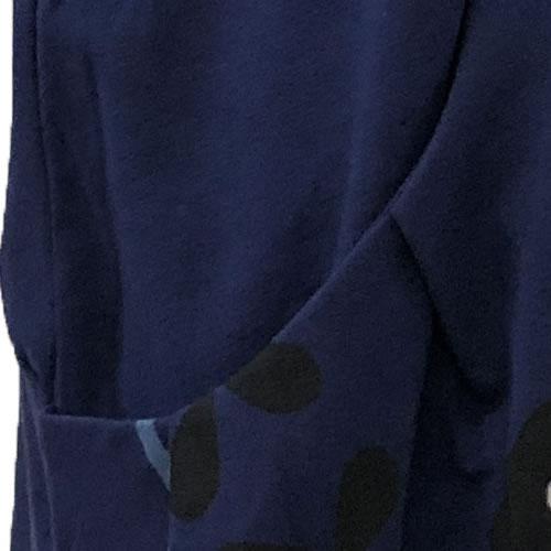 チュニック バルーン ポケット付き 半袖 SS22 04 【cinq dix】