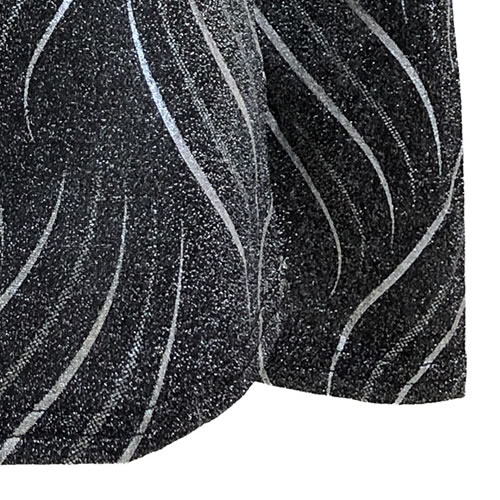 カットソー ラメ 長袖 N020 20  【cinq dix】