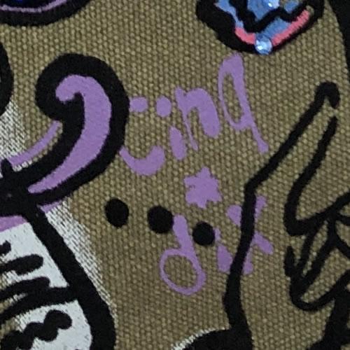 ショルダー BAG ガールズプリント 206B 16 【cinq dix】