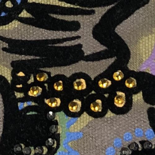 ショルダー BAG ガールズプリント 210B 16 【cinq dix】