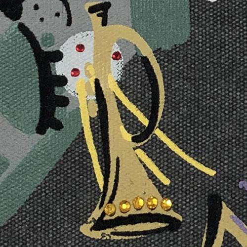 ショルダー BAG アニマルプリント ネコ 211B 19 【cinq dix】