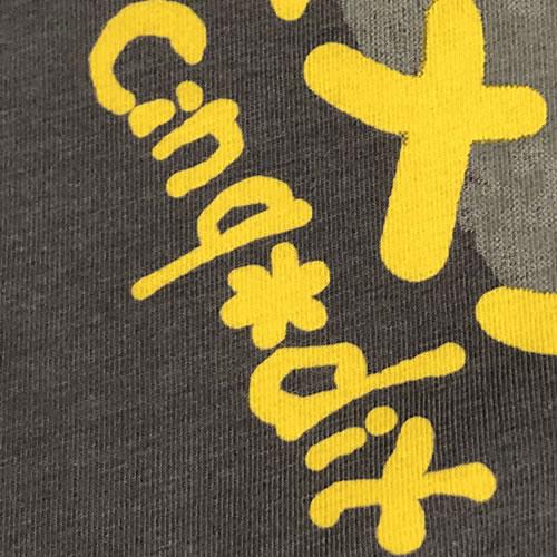 カットソー ガールズプリント ラインストーン 半袖 SS03 19 【cinq dix】
