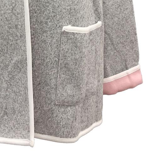 ニット カーディガン ポケット付き 長袖 N008 18 【cinq dix】