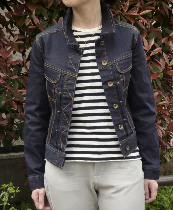 【CEST COOL】大人女子のデニムジャケット