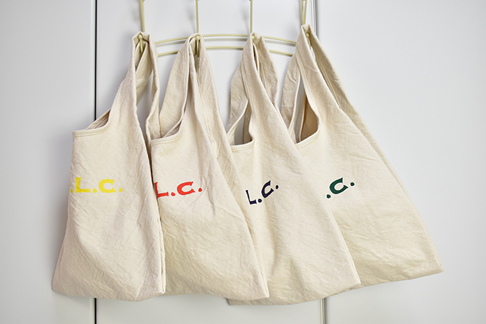【V.D.L.C】やわらか帆布のレジエコバッグ Sサイズ