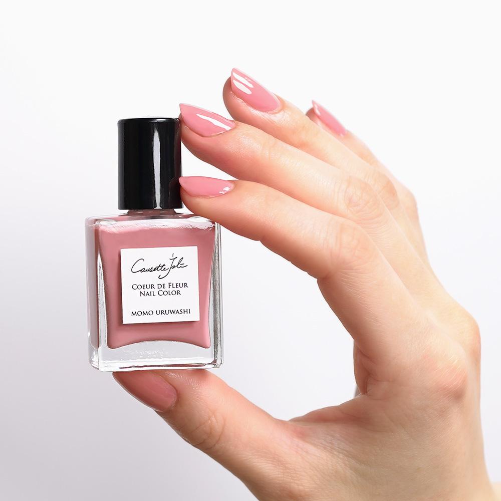 【MOMO URUWASHI】 Coeur de Fleur Nail Color