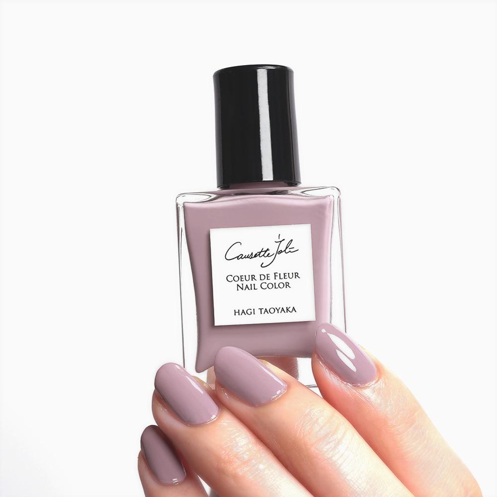 【HAGI TAOYAKA】 Coeur de Fleur Nail Color