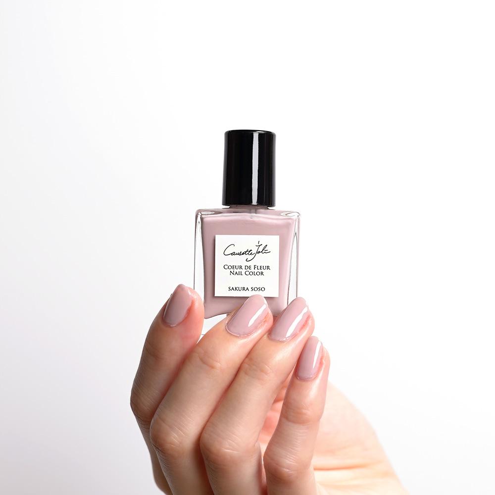 【SAKURA SOSO】 Coeur de Fleur Nail Color