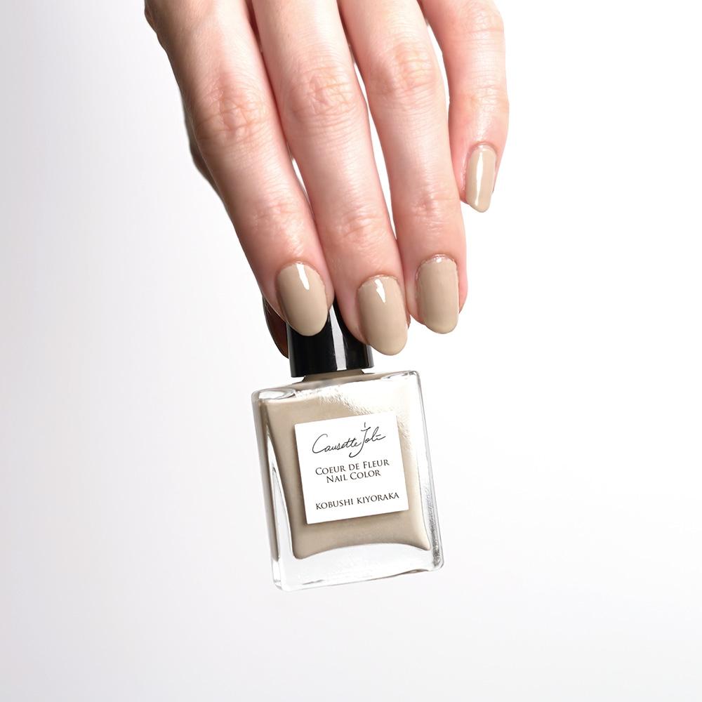 【KOBUSHI KIYORAKA】 Coeur de Fleur Nail Color
