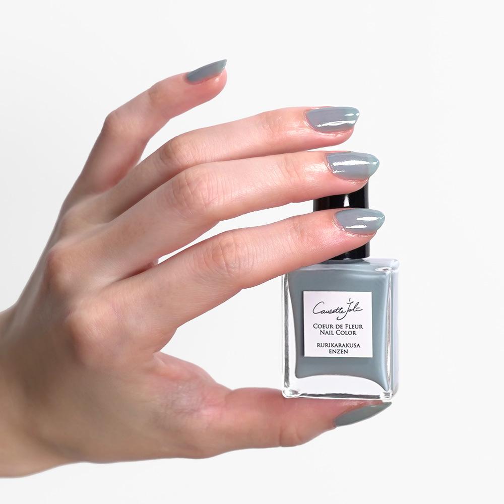 【RURIKARAKUSA ENZEN】 Coeur de Fleur Nail Color