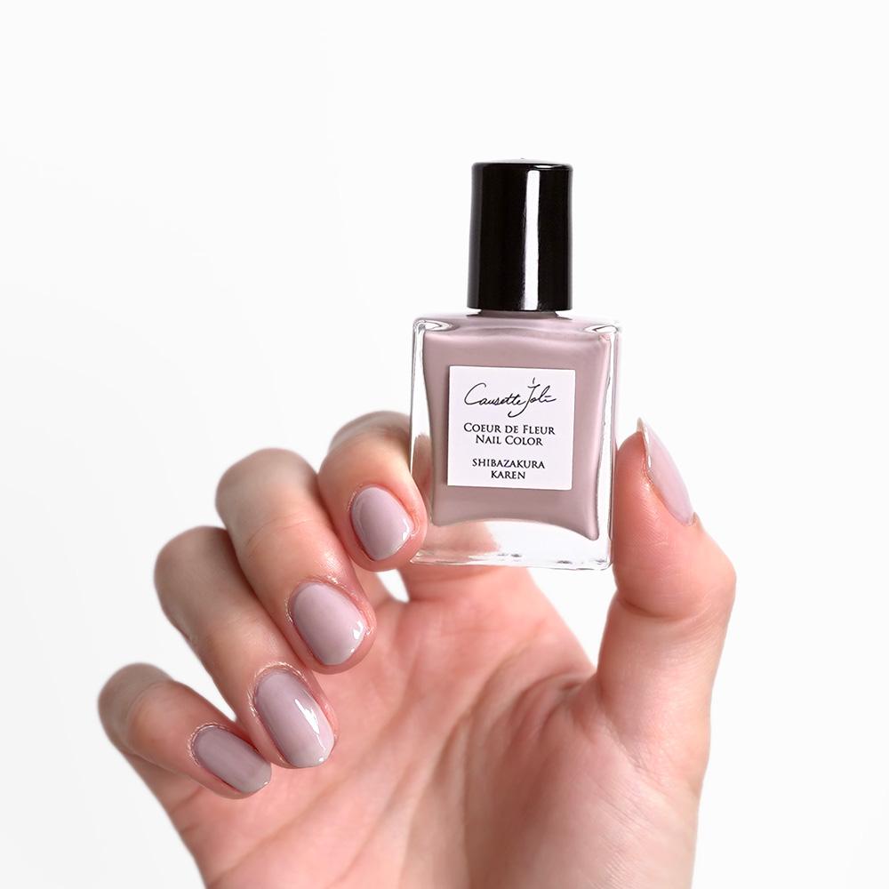 【SHIBAZAKURA KAREN】 Coeur de Fleur Nail Color